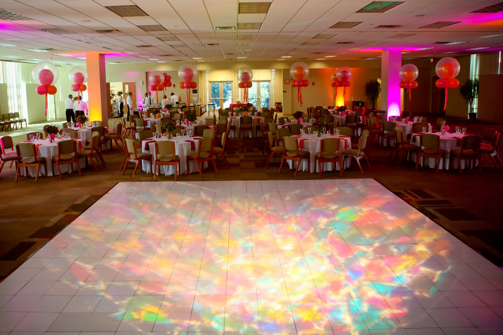 Dancefloor size chart premiere events for 10 x 9 square feet