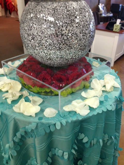 Lucite Cake Stand