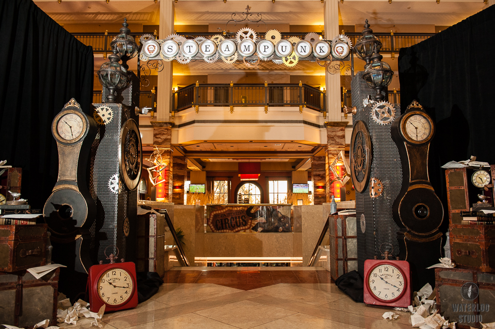 Steampunk Themed Holiday Party Premiere Events