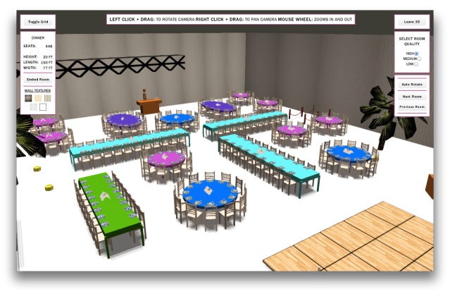 Social Tables Example 1
