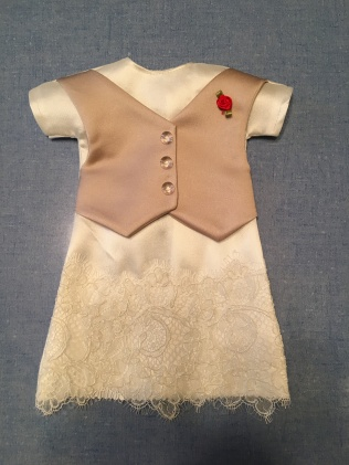 2/2 dresses made from a Premiere team member's sisters dress