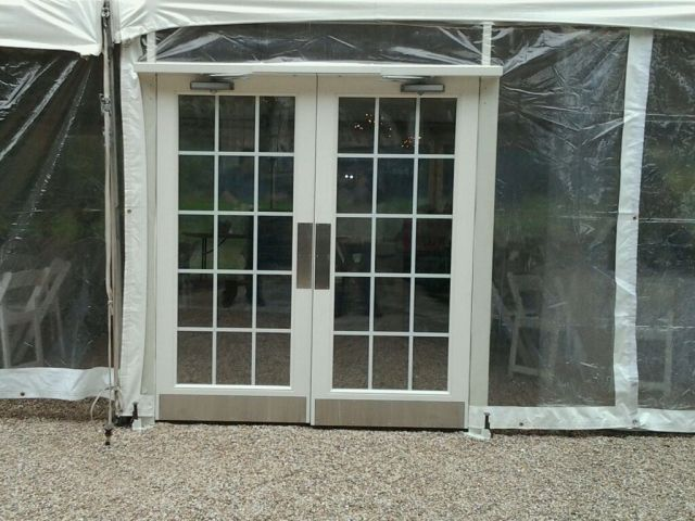 Tent French Door
