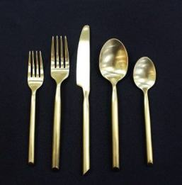 Capri-Brushed-Gold-Flatware